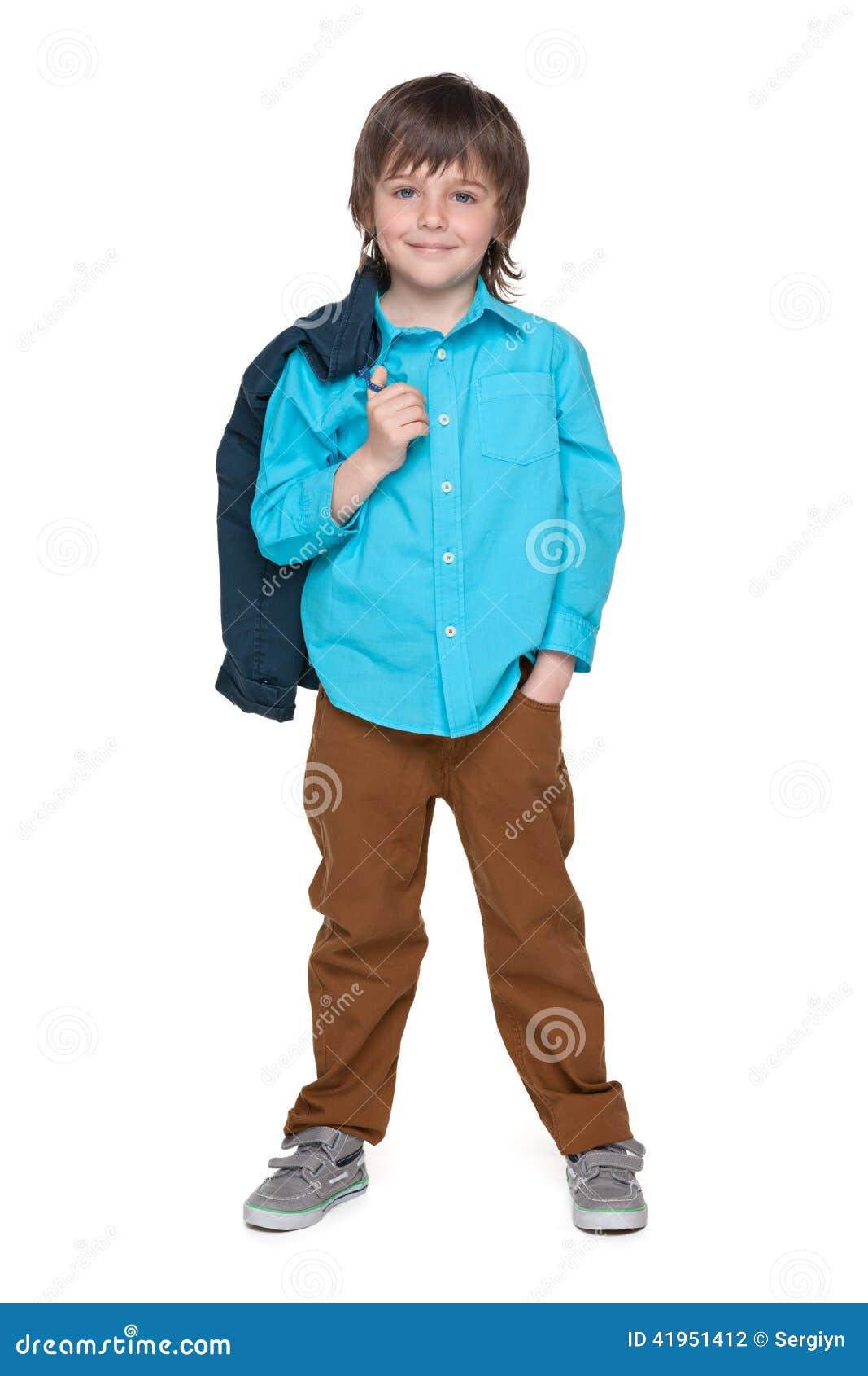 Cool mody chłopiec