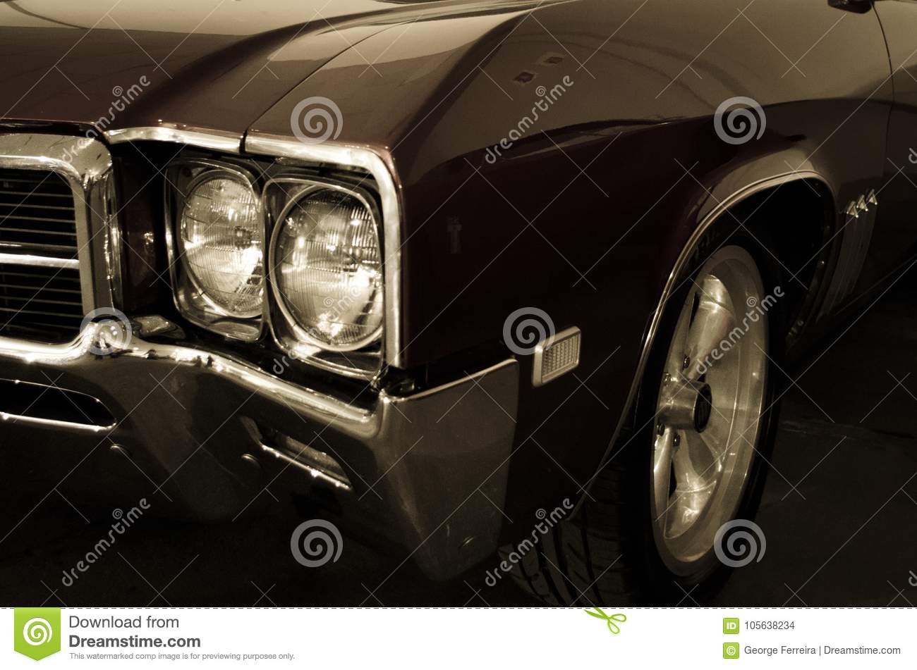 Cool old muscle car stock photo. Image of stong, cool - 105638234