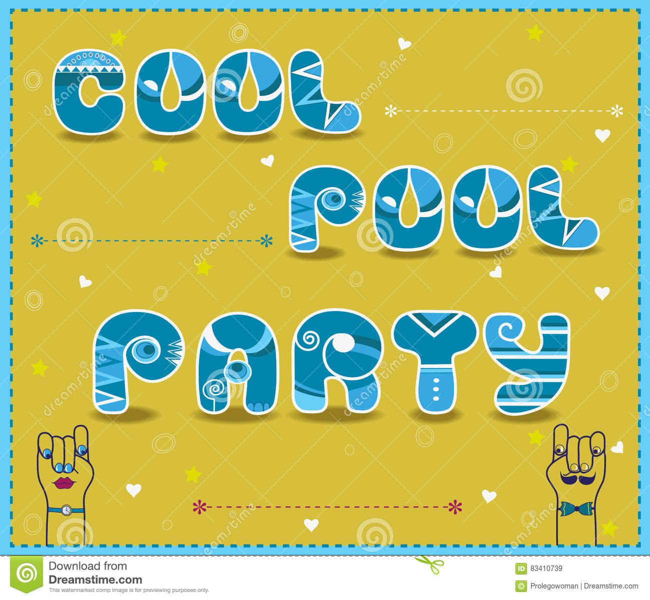 Pool Party Invitation Illustrations 400 Pool Party – Cool Pool Party Invitations