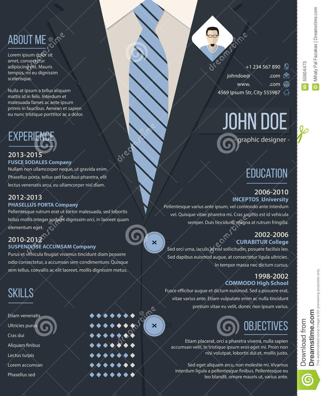template with business suit background Business Suit Template Business ...