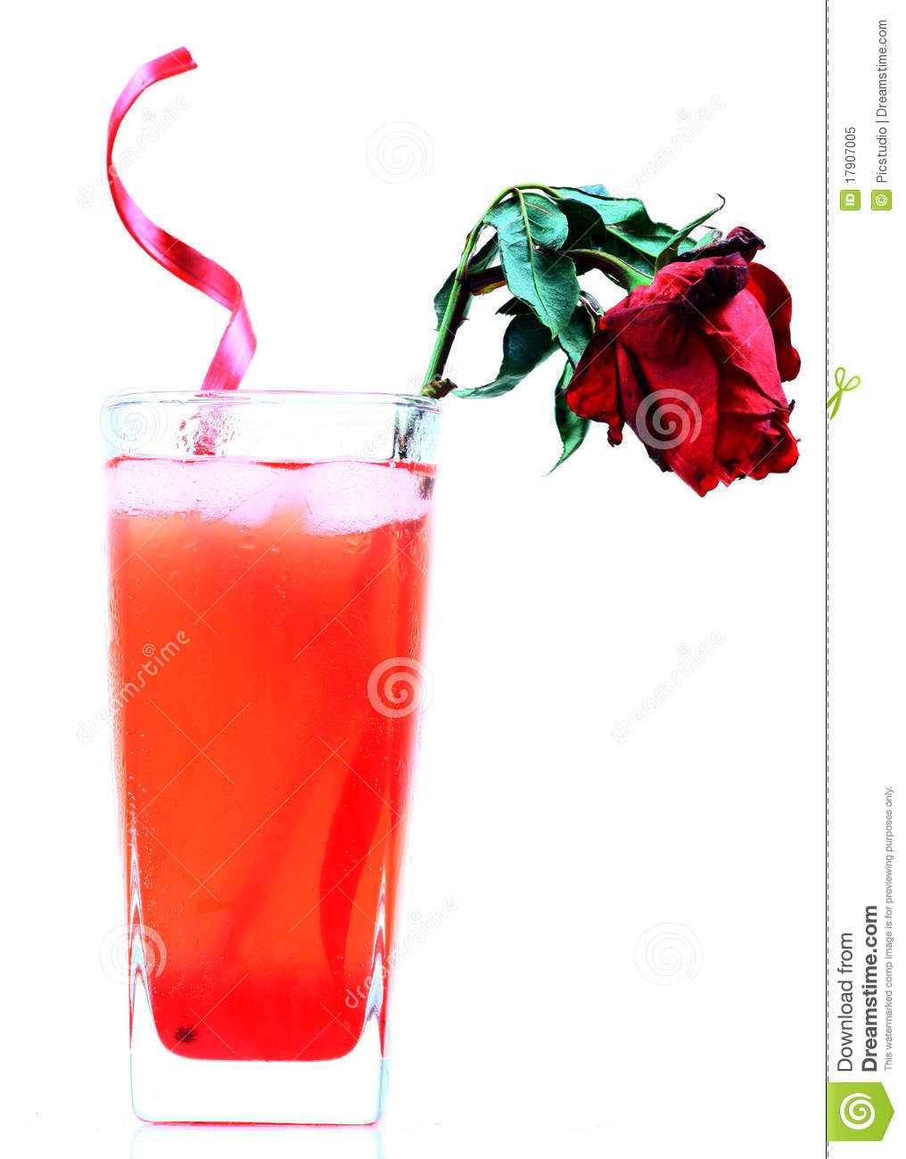 Cool Rose Drink Royalty Free Stock Photo - Image: 17907005
