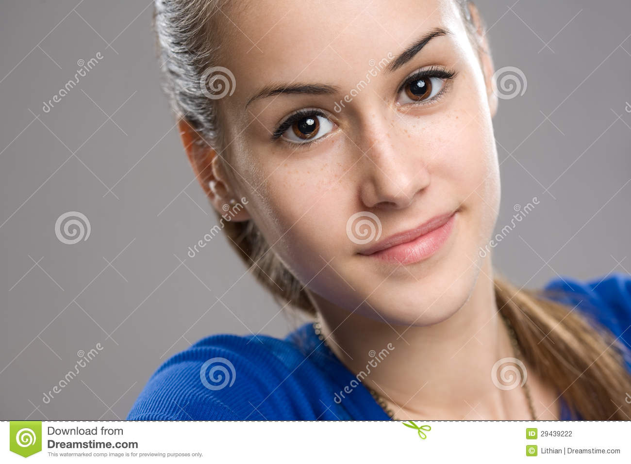 Cool Teen Girl Stock Photo Image Of Thinking Copy