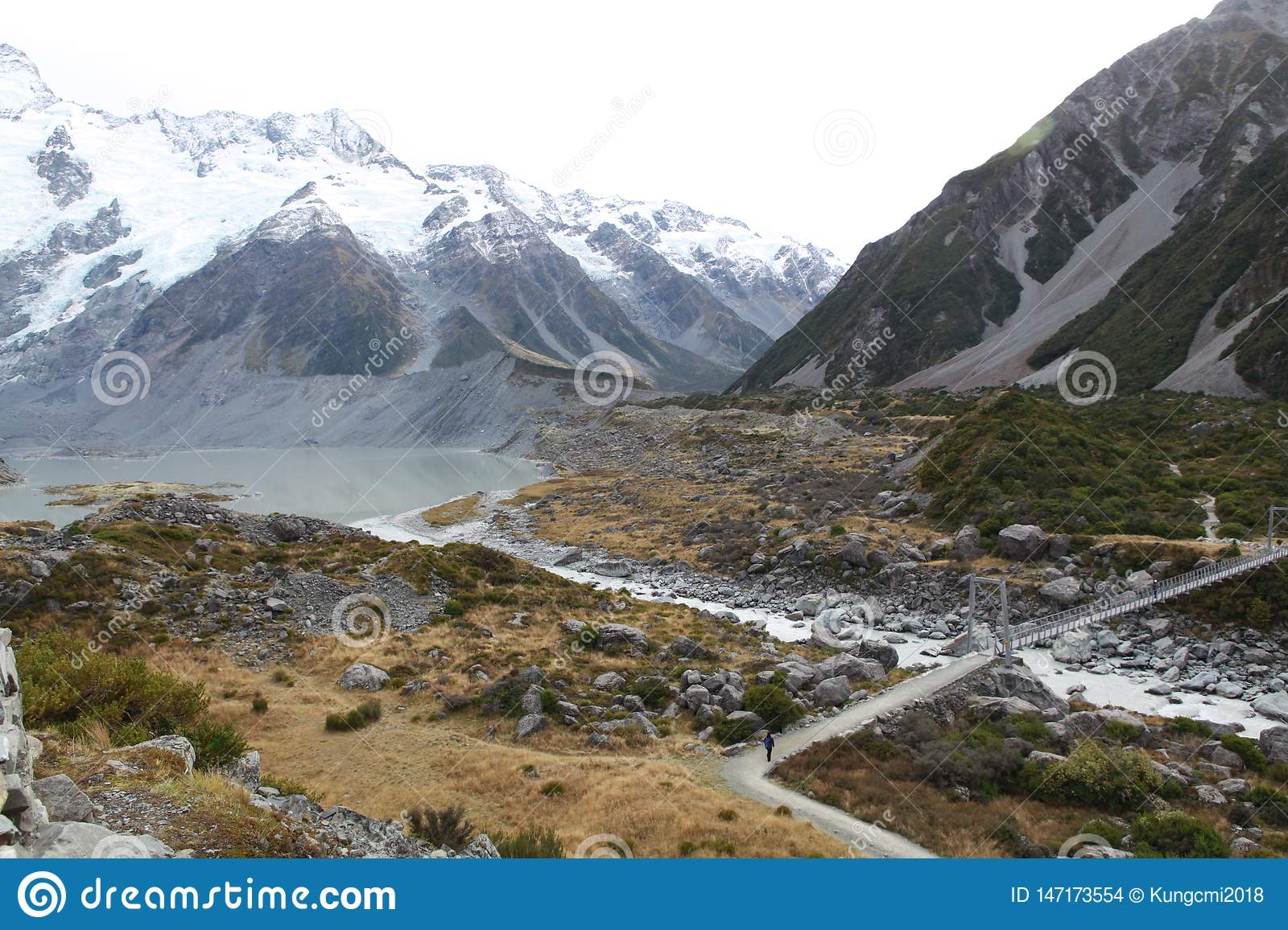Cool trail at Mt cook