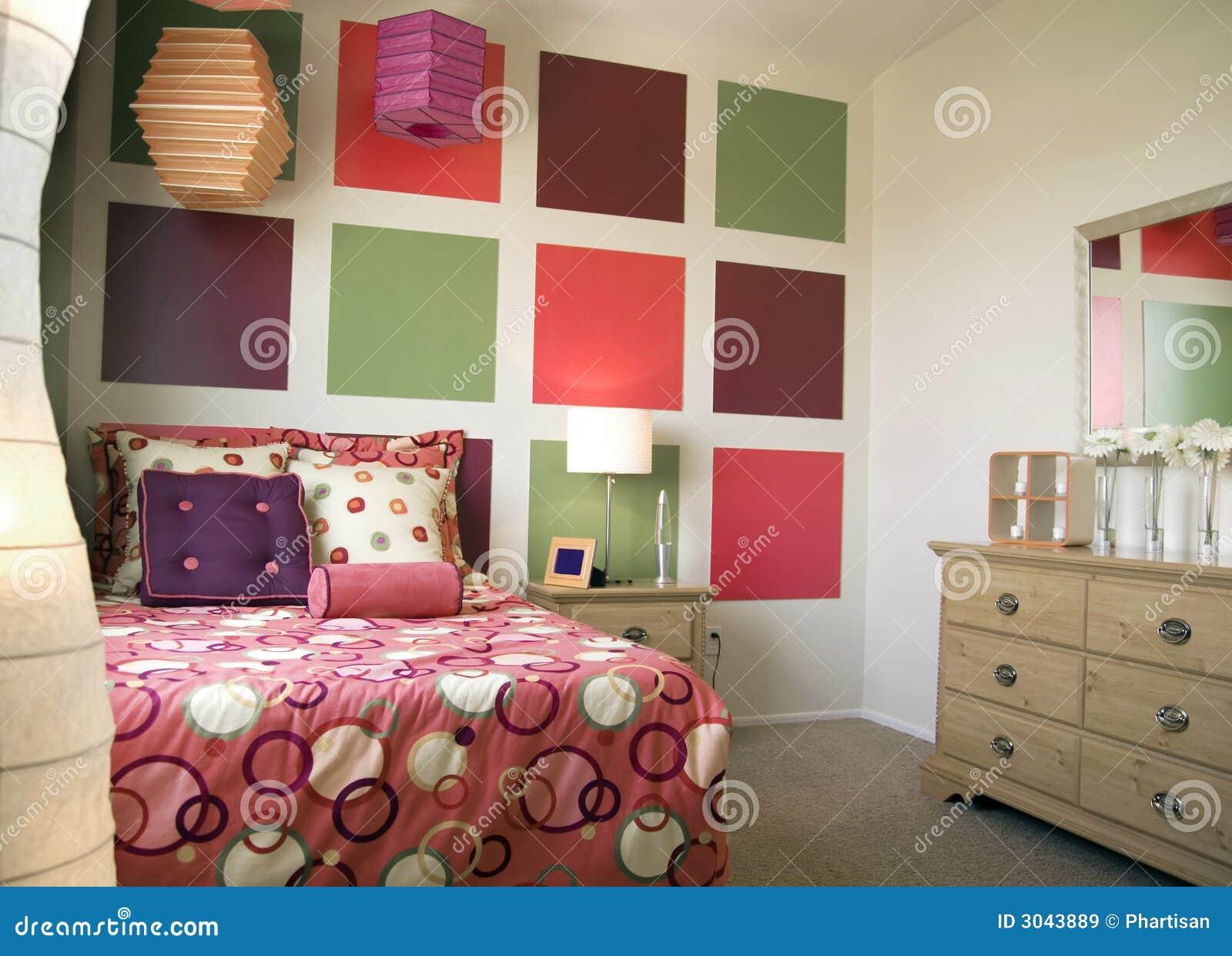 Cool Trendy Bedroom Interior