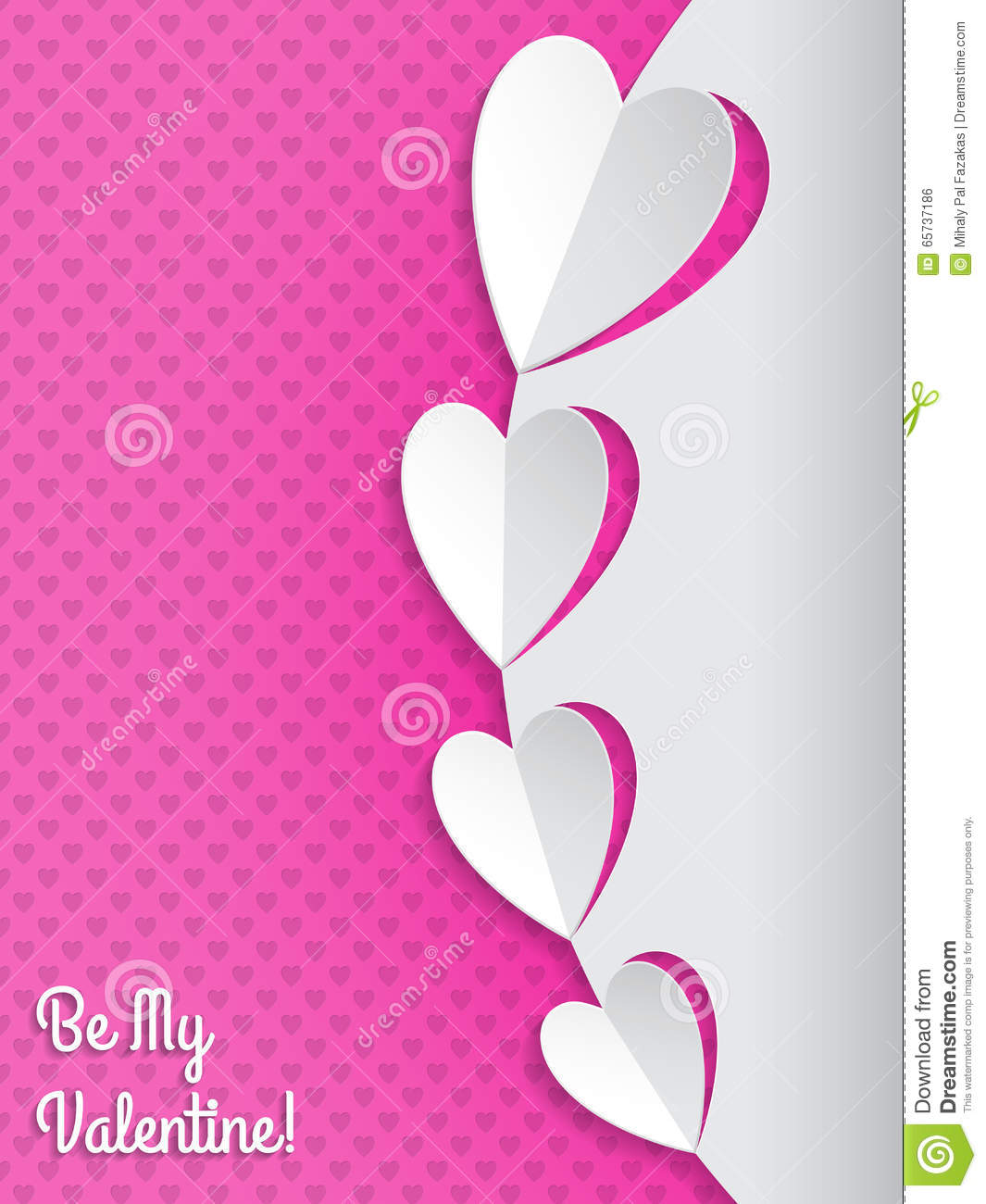 Cool valentine greeting card with hearts stock vector illustration download comp m4hsunfo