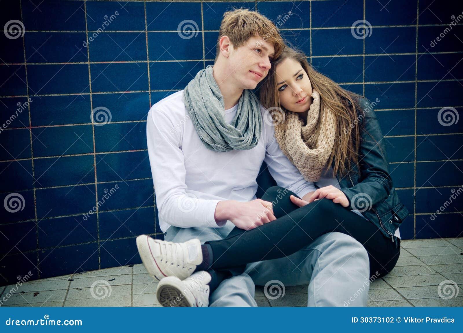 girl couple with teen Young teen
