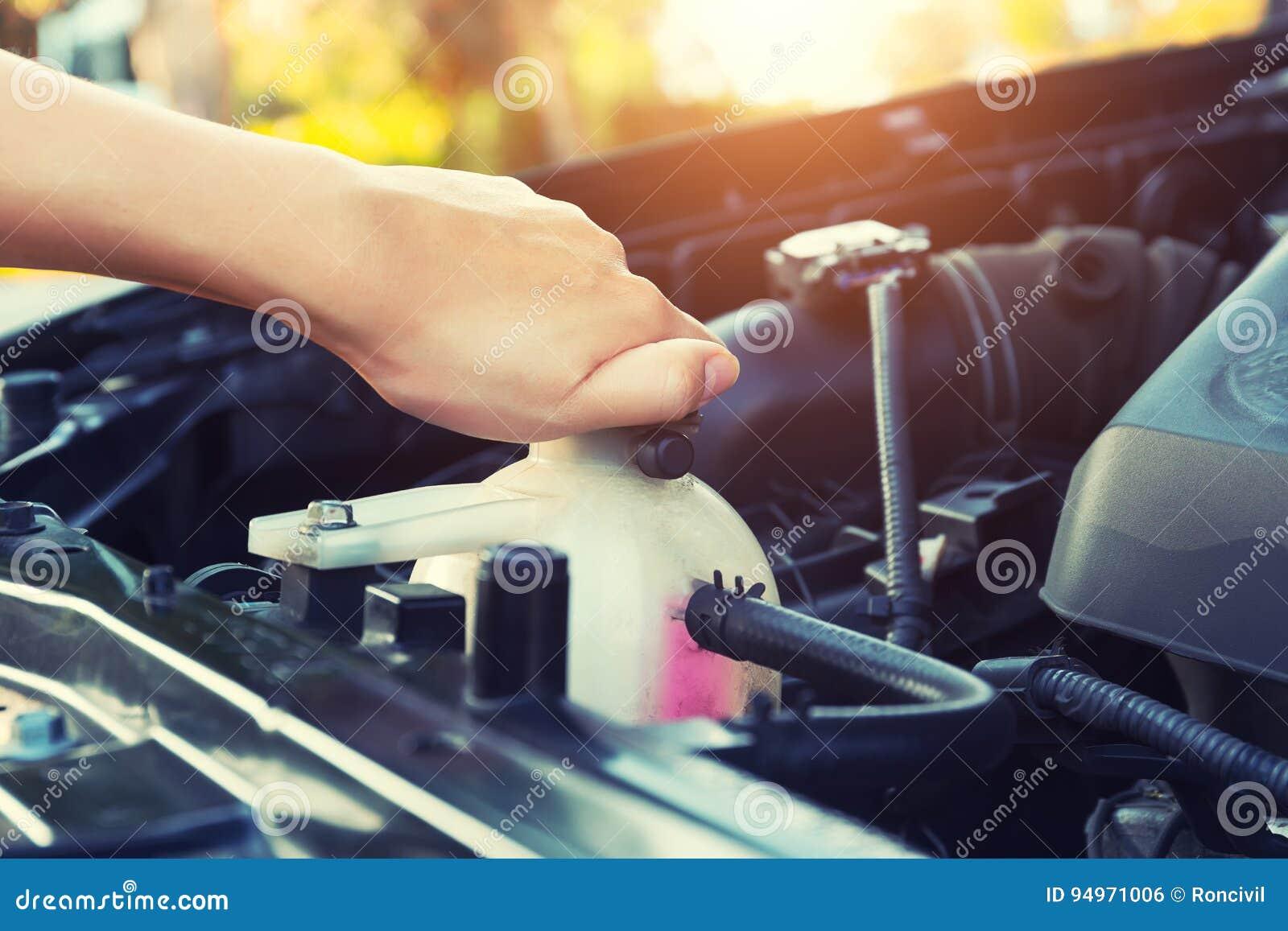 Coolant samochodowy czek
