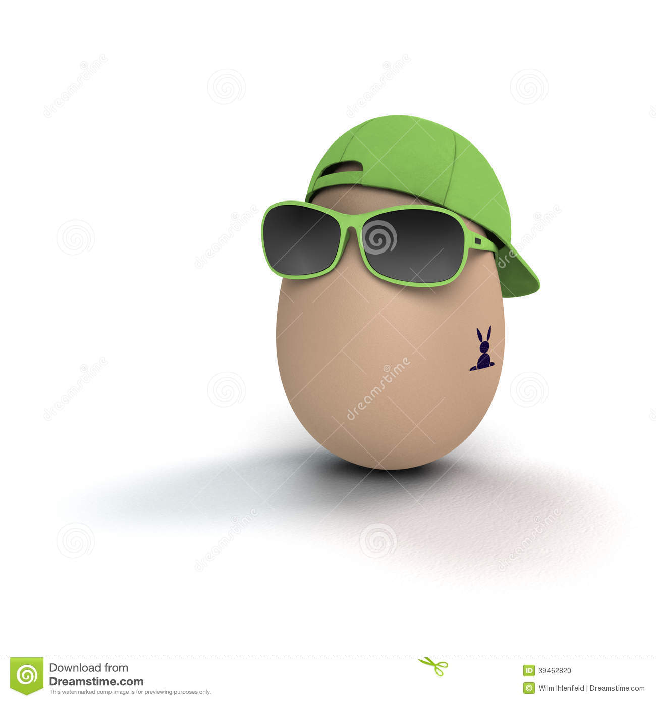 coolest easter egg stock photo image 39462820