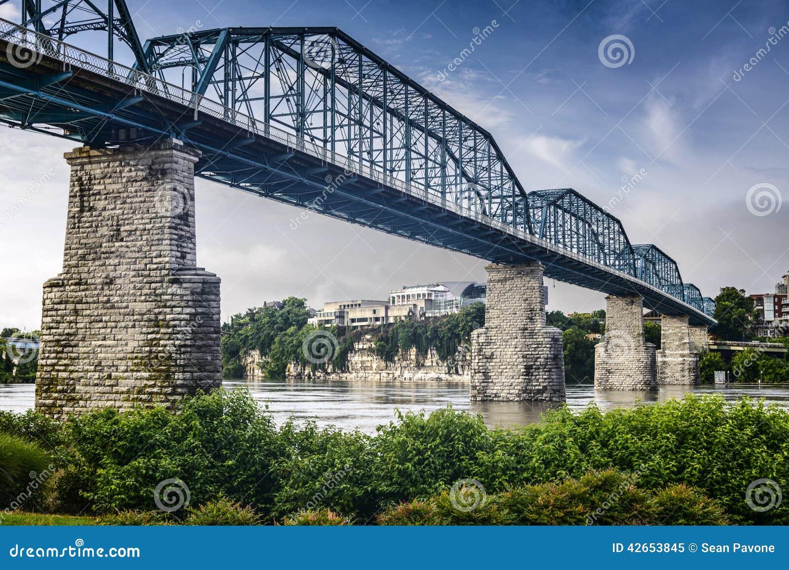 Coolidge Park and Walnut Street Bridge