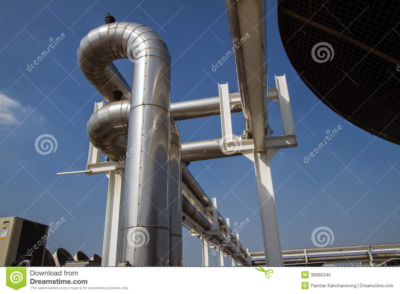 Cooling Pipe Royalty Free Stock Photo Image: 36880345 #375178