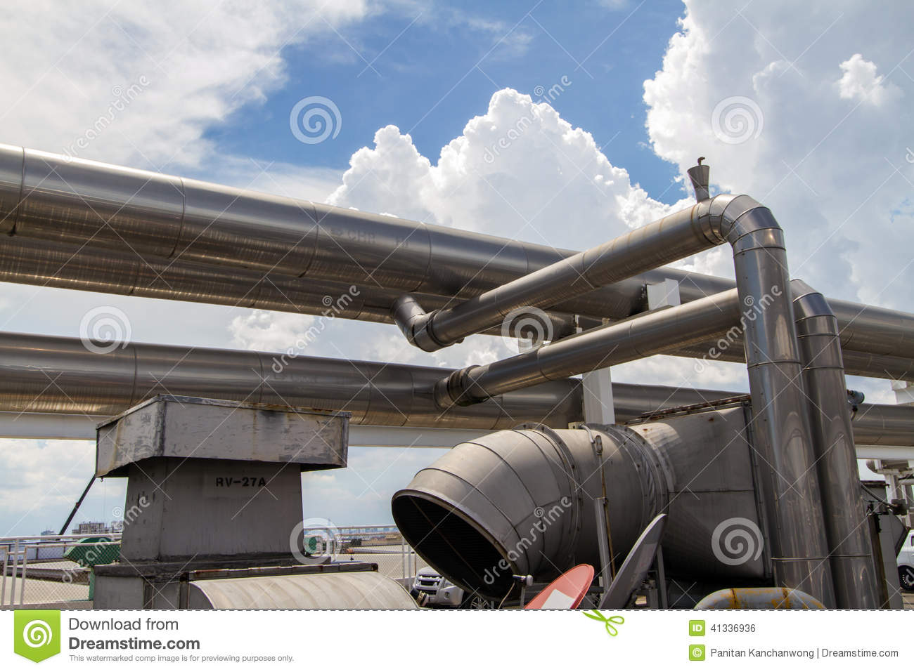 Cooling Pipe Stock Photo Image: 41336936 #3B6090