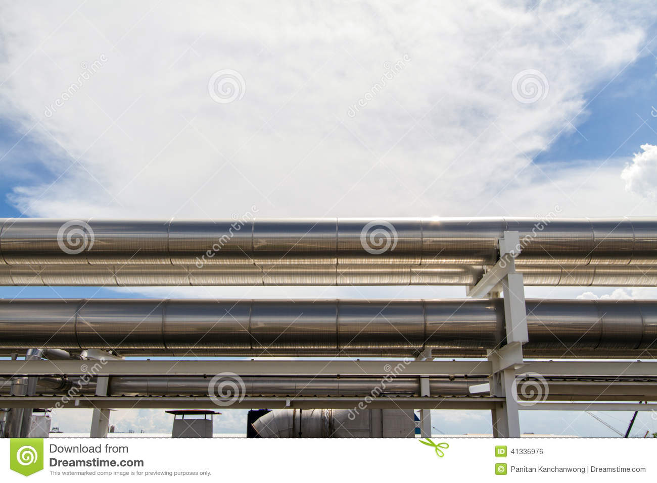 Cooling Pipe Stock Photo Image: 41336976 #3A6091
