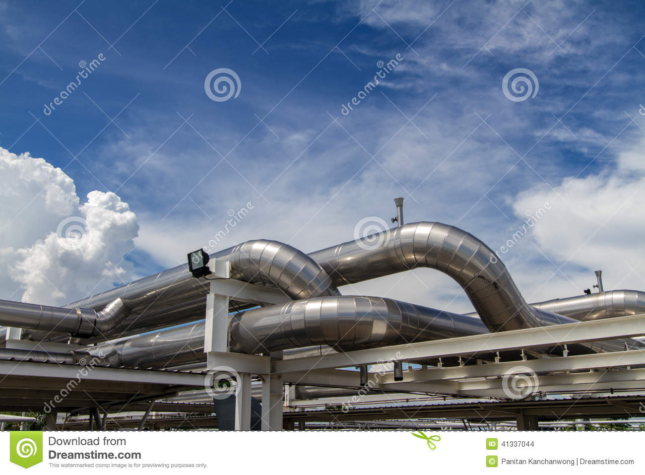 Cooling Pipe Stock Photo Image: 41337044 #274C81