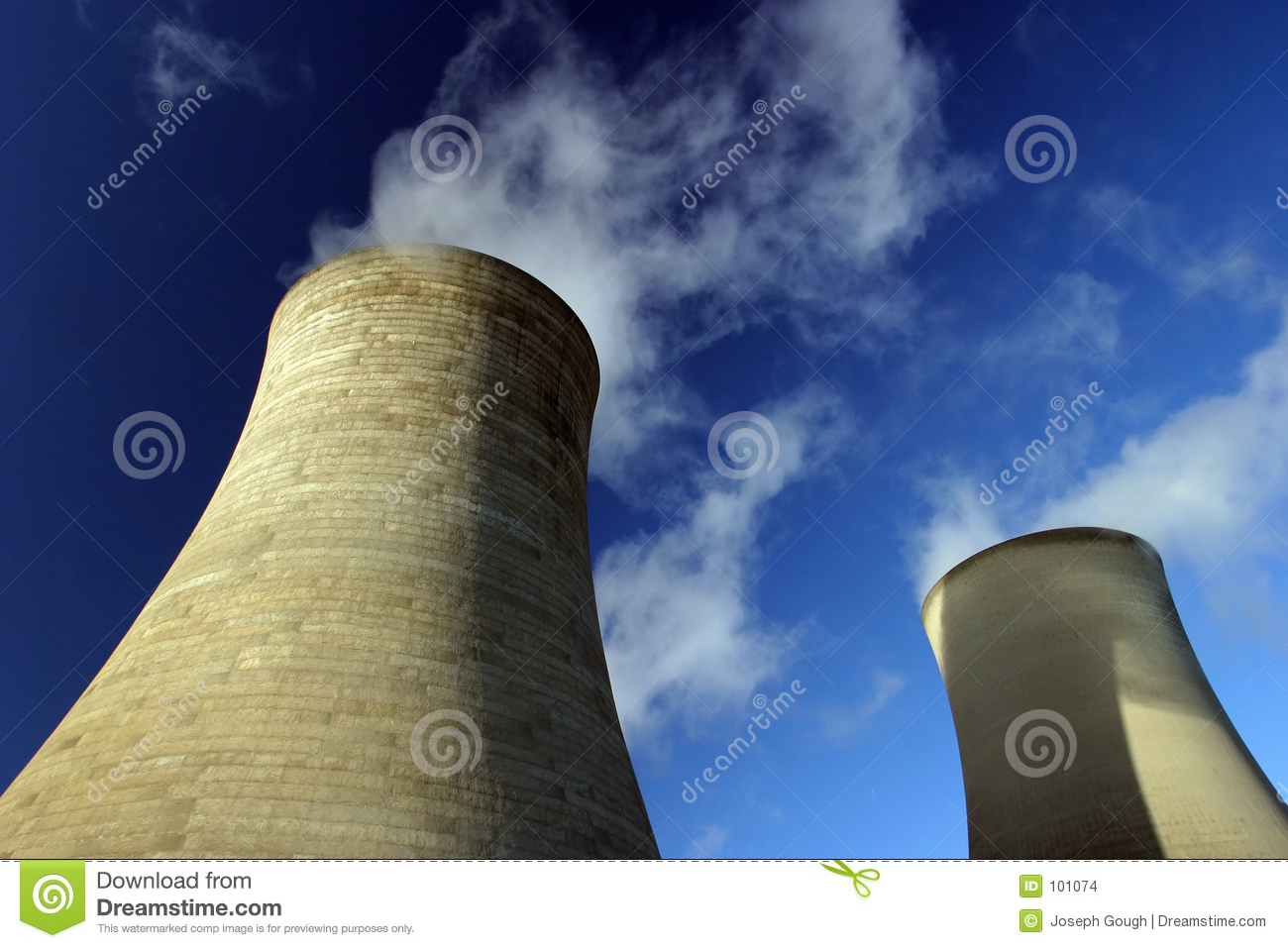 Cooling Towers, Power Station