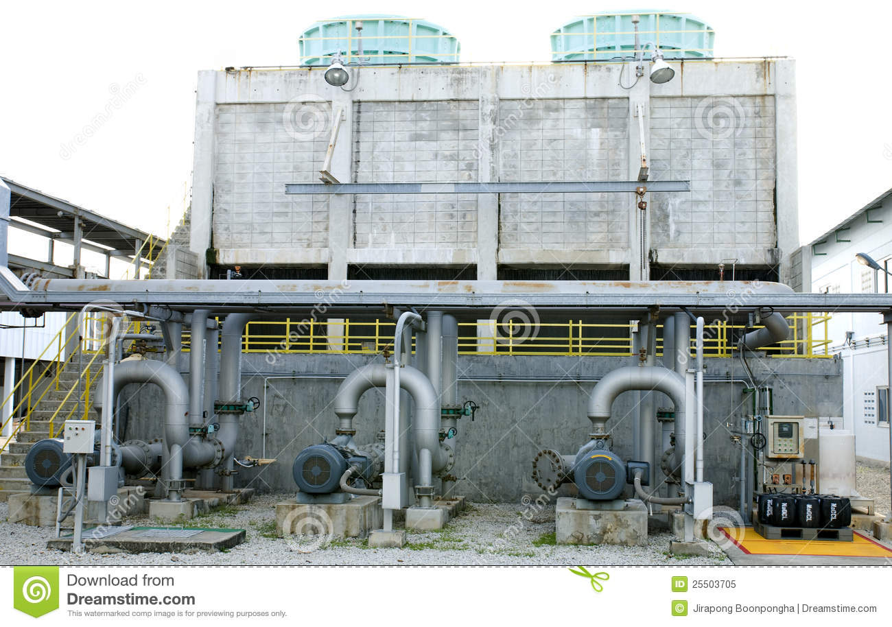 Cooling Towers System Royalty Free Stock Photo - Image: 25503705