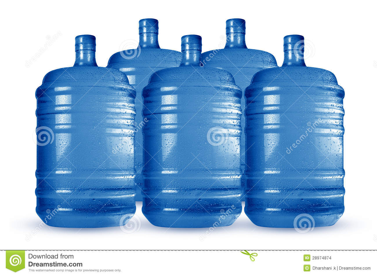 Cooling Water Cans Stock Photo Image Of Health Color