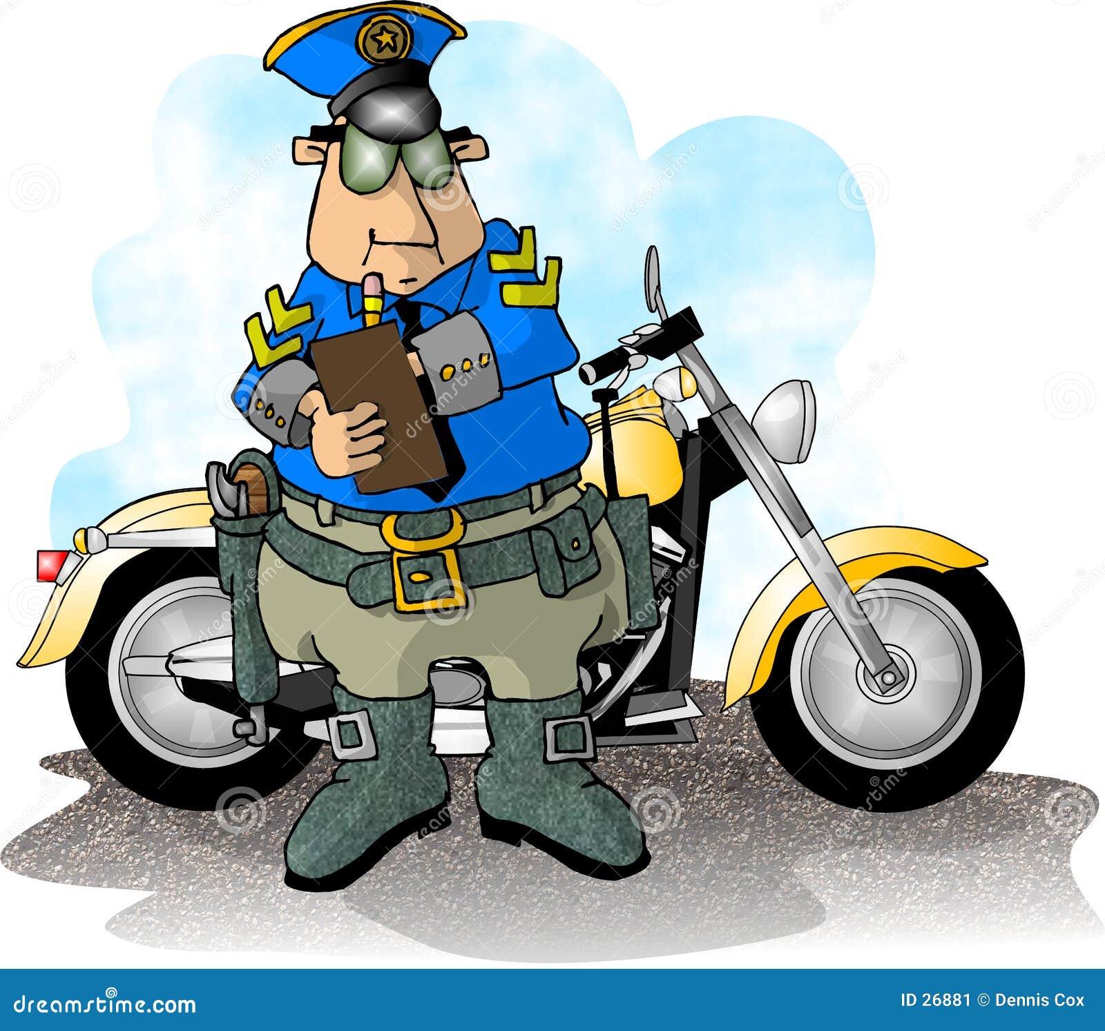 Cop de moto