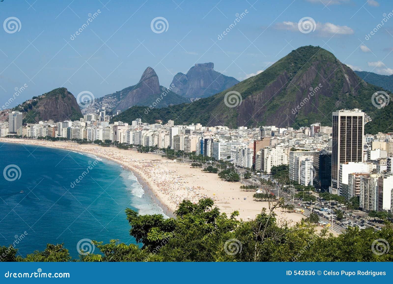 Download Copacabana 库存照片. 图片 包括有 里约, 都市, janeiro, 海运, 地平线, 火箭筒, 岩石 - 542836