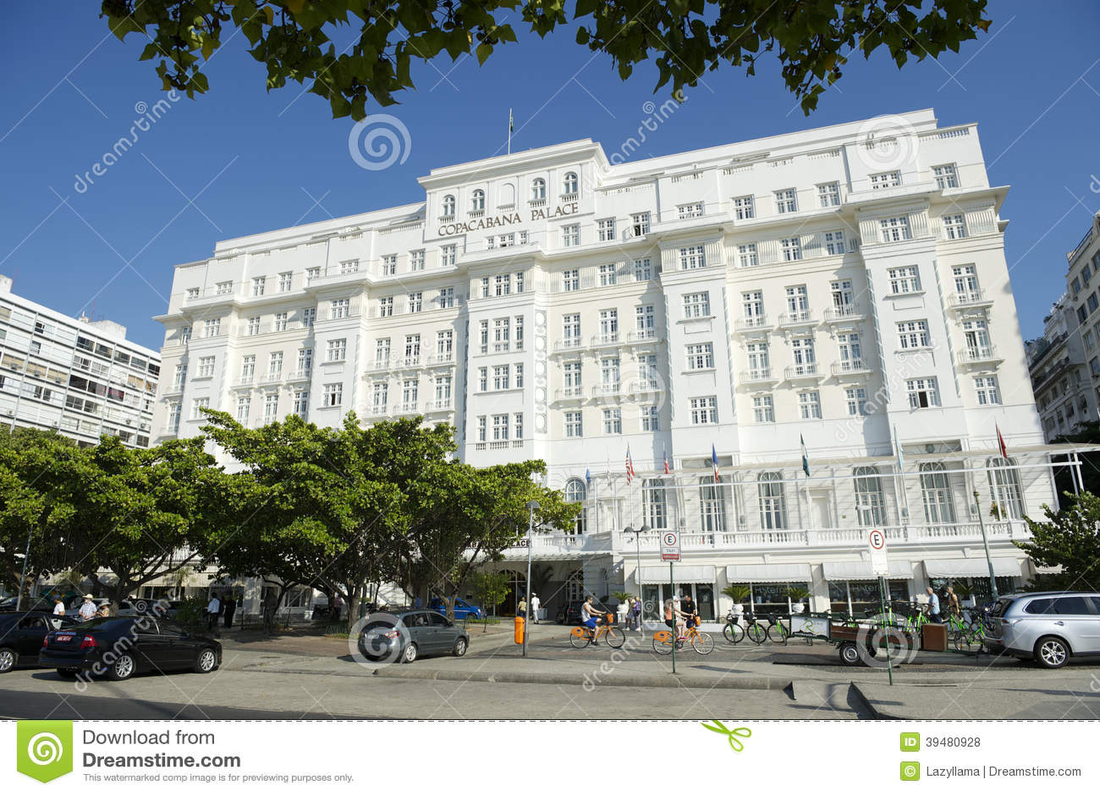 Copacabana palace hotel rio de janeiro editorial stock Rio design hotel