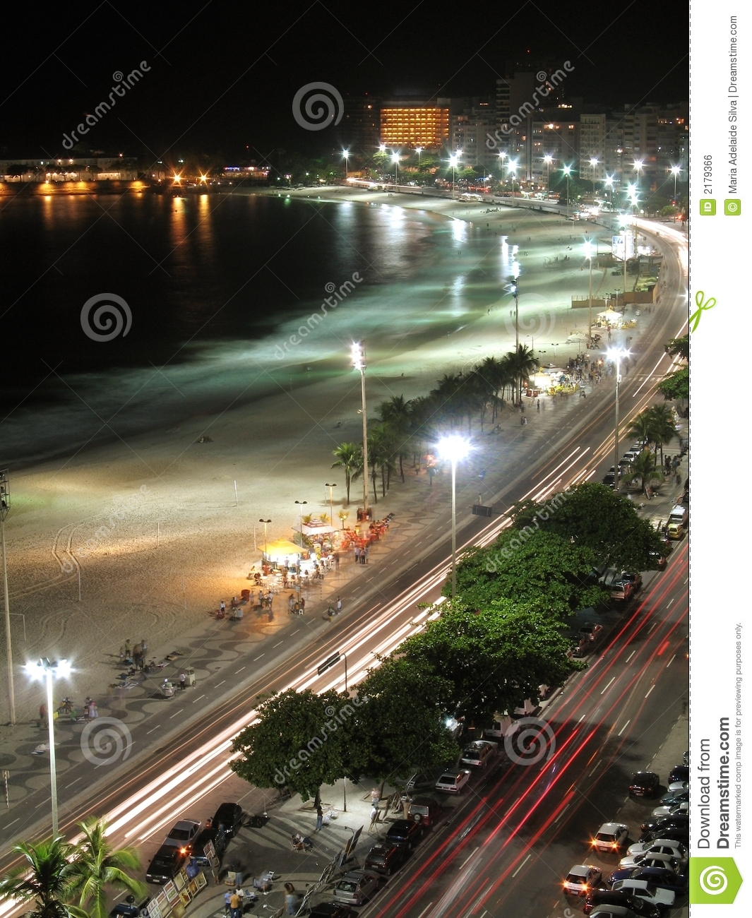 Copacabana par Night - 2