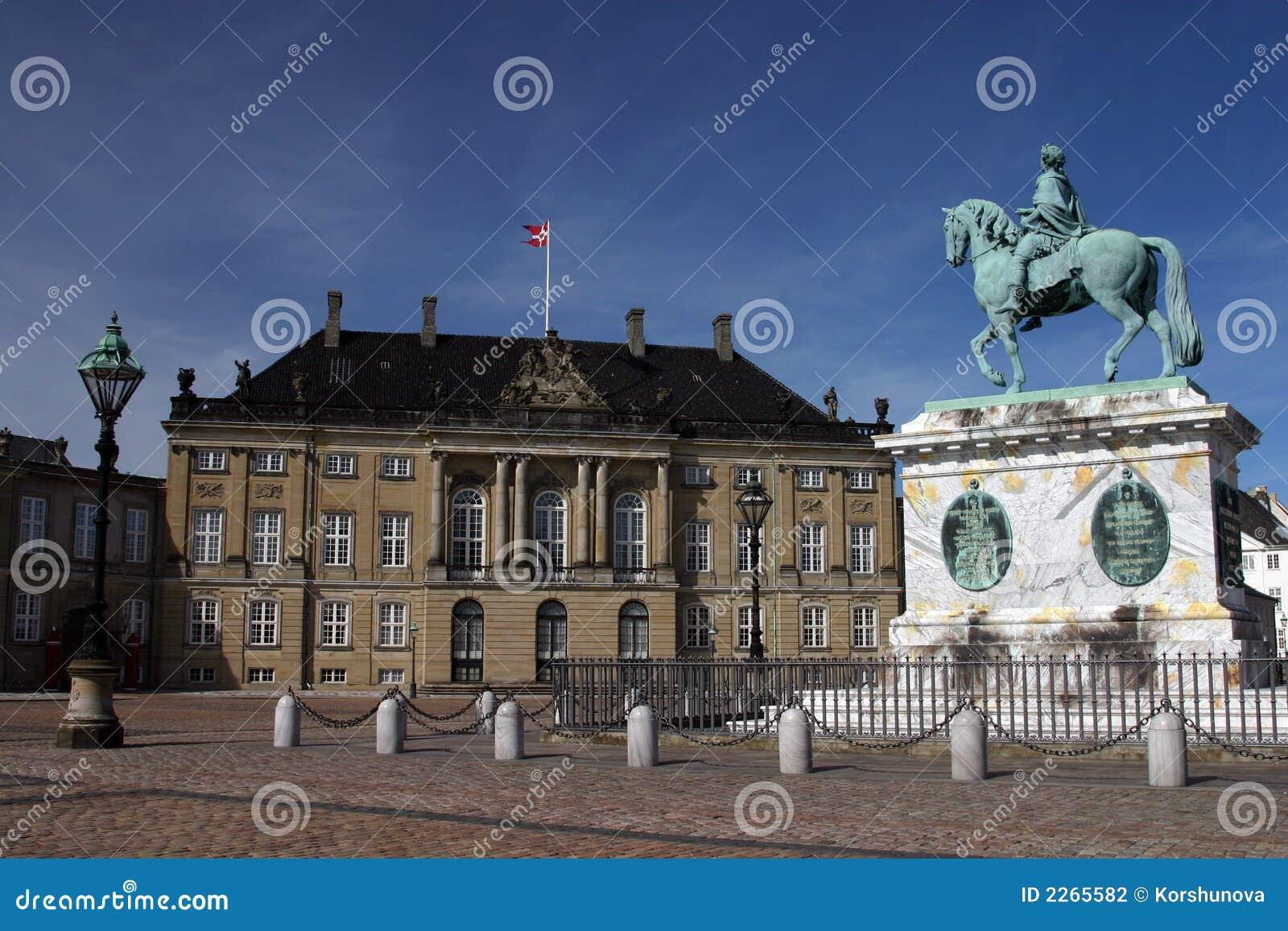 Copenhag pałacu amalienborg