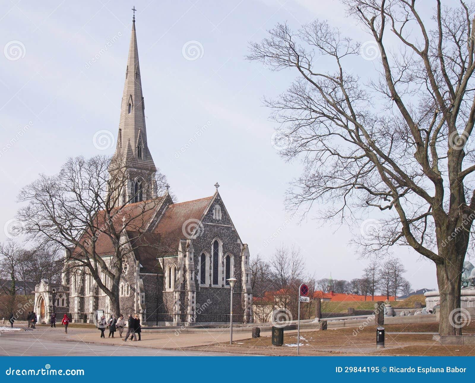 Igreja do St. Albán, Copenhaga