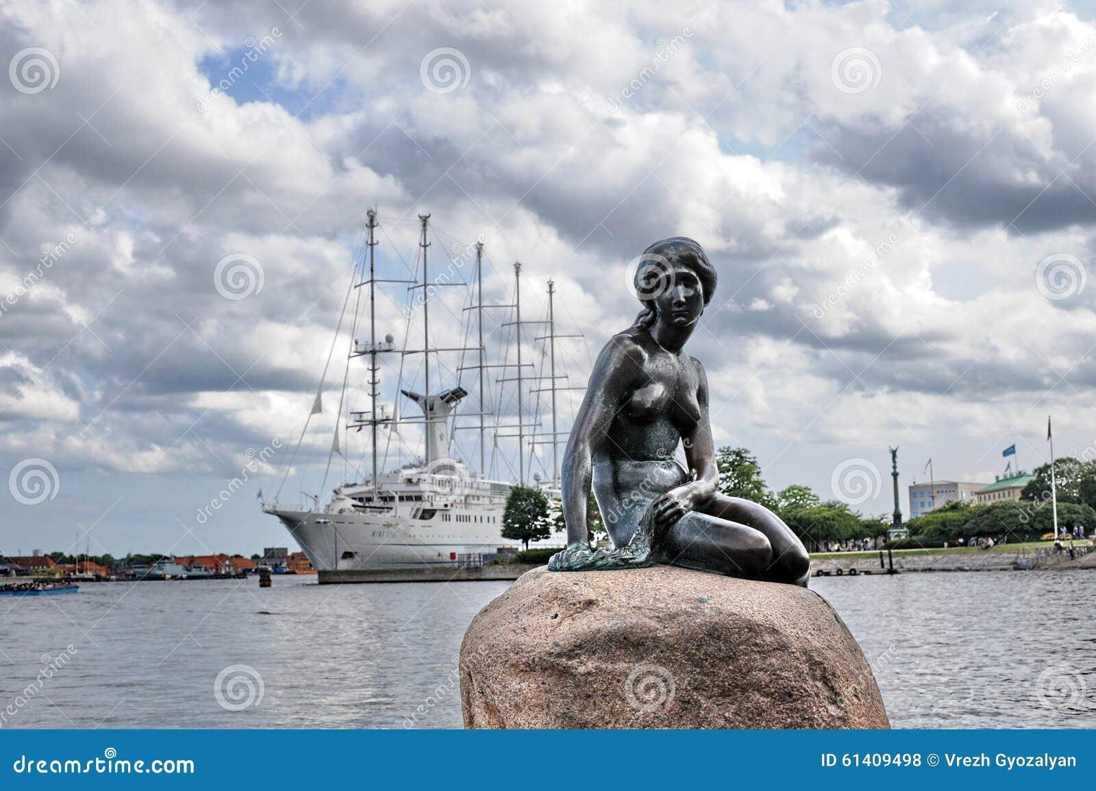 Copenhaga a sereia pequena