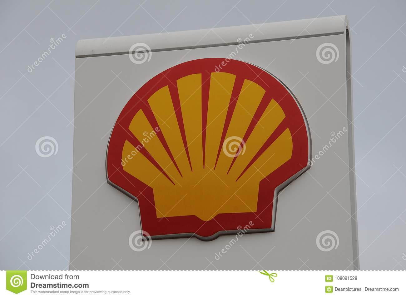 Shell Gas Station Editorial Stock Photo Image Of Denmark 108091528