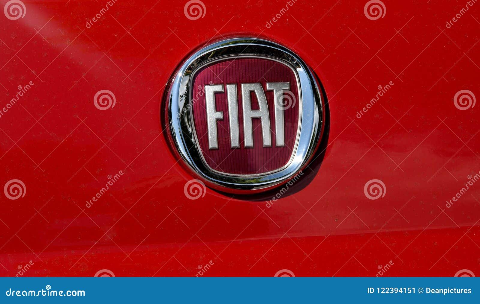 Fiat Auto Logo Editorial Photo Image Of Finances Finanse 122394151