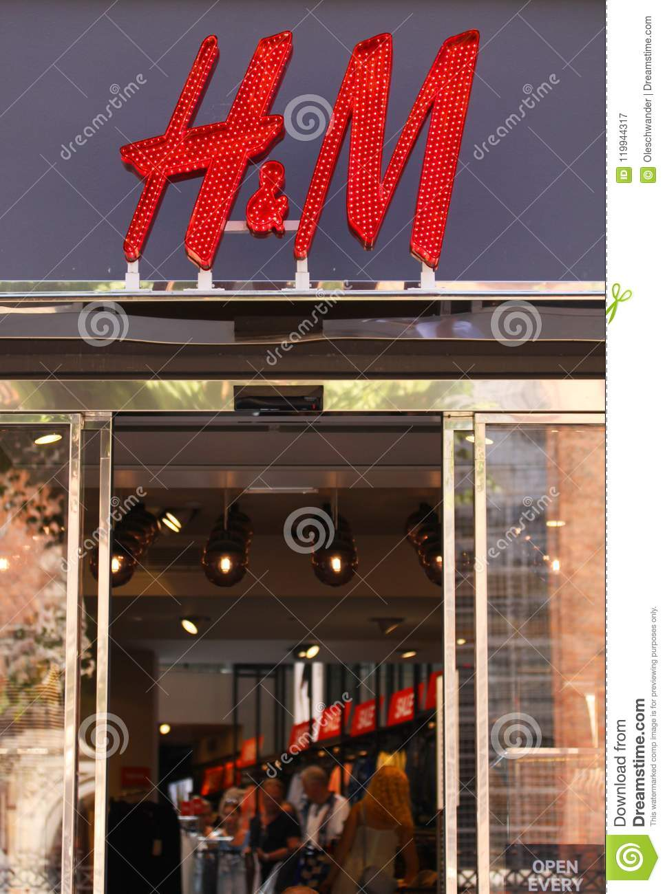 084ae88bf4e H M Store logotype Sign. H M Hennes   Mauritz AB is a Swedish multinational  retail-