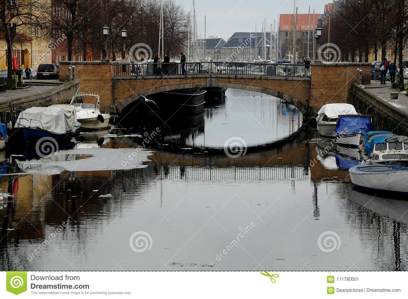 BOATS AT CHRISTIANSHAVN CANAL