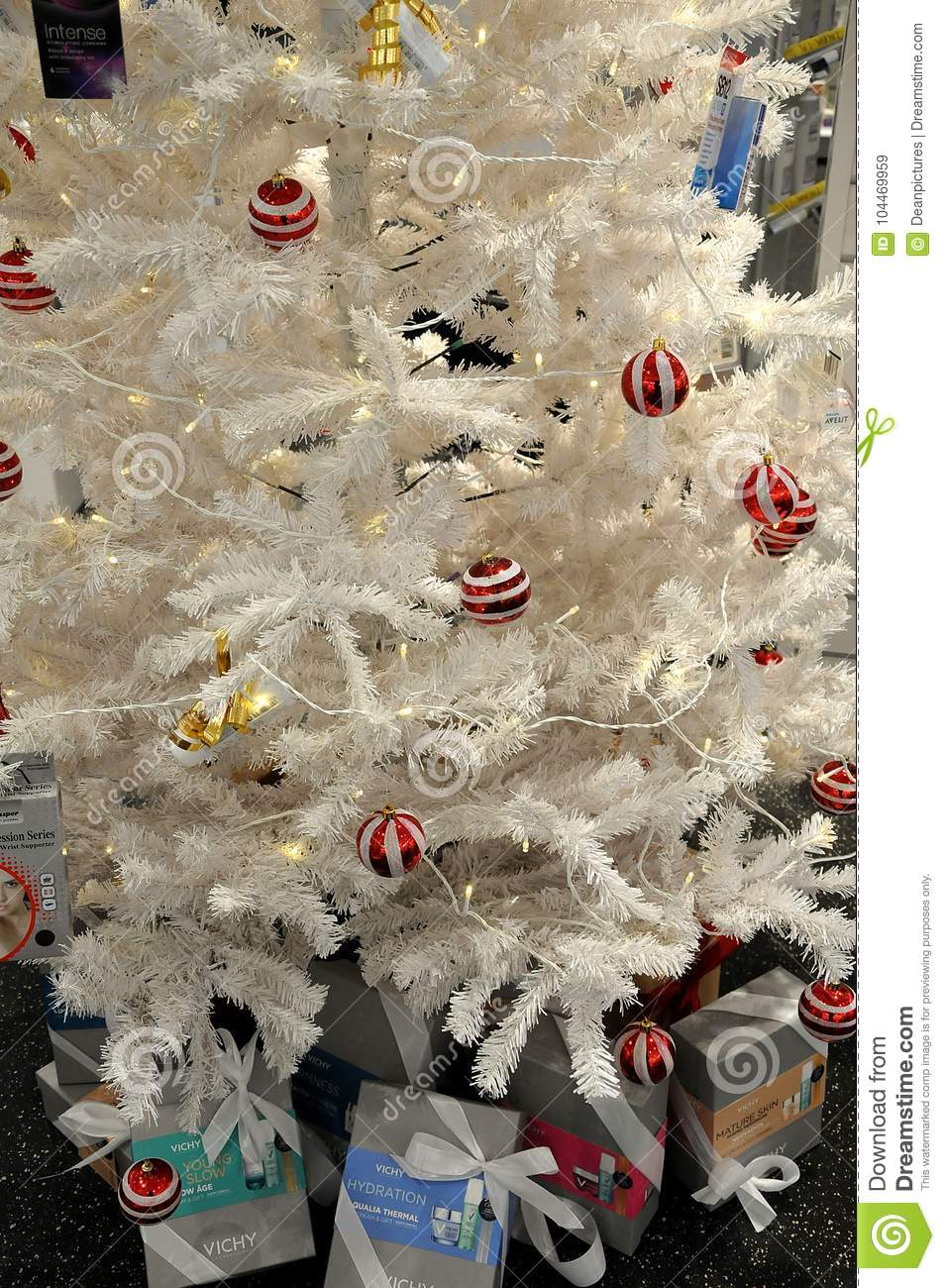 artificial christmas decorated with ornaments - Pharmacy Christmas Ornaments