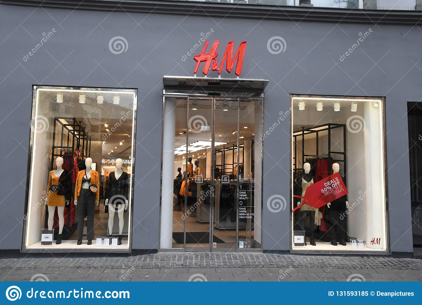 h and m denmark