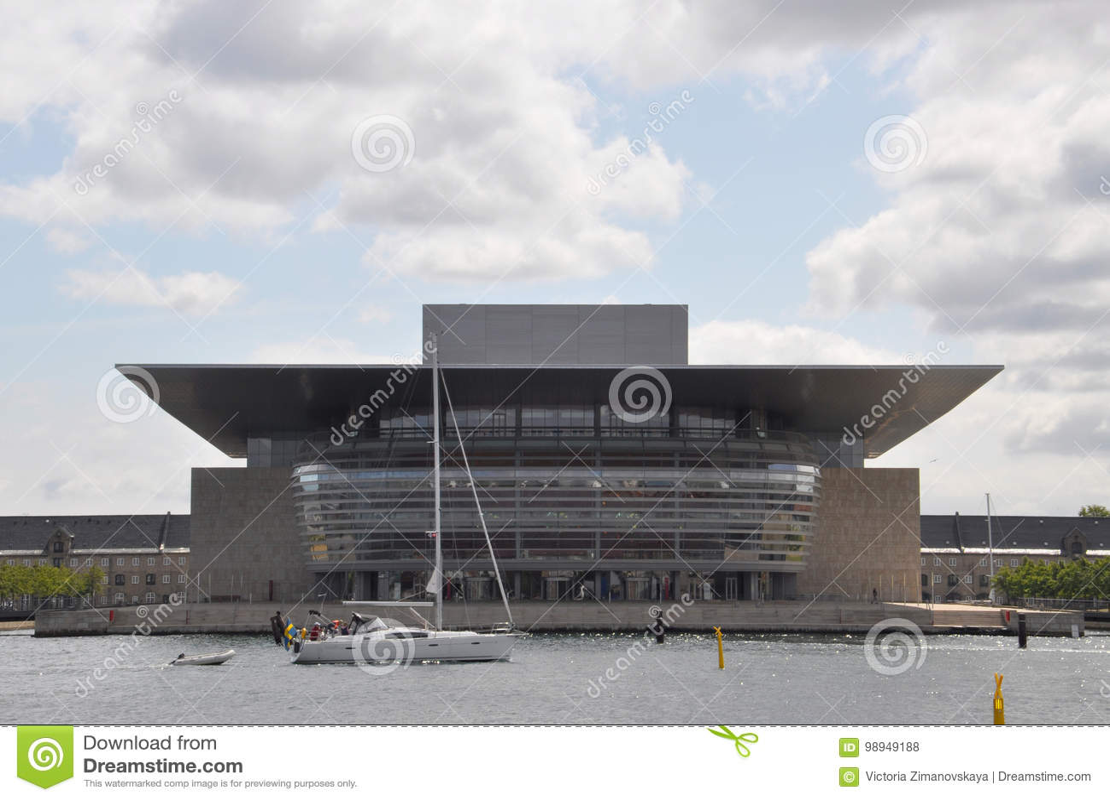 Danish National Soccer Stadium Parken Editorial Photo ...