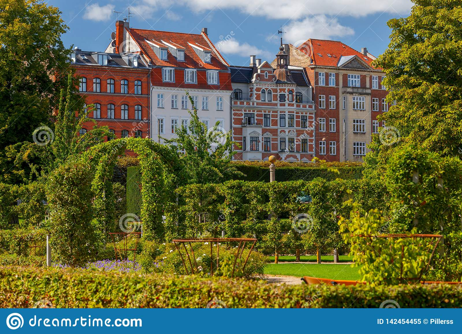 Copenhagen stadspark långt