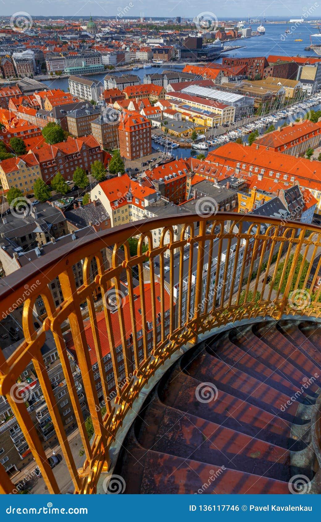 Copenhague Vue aérienne de la ville