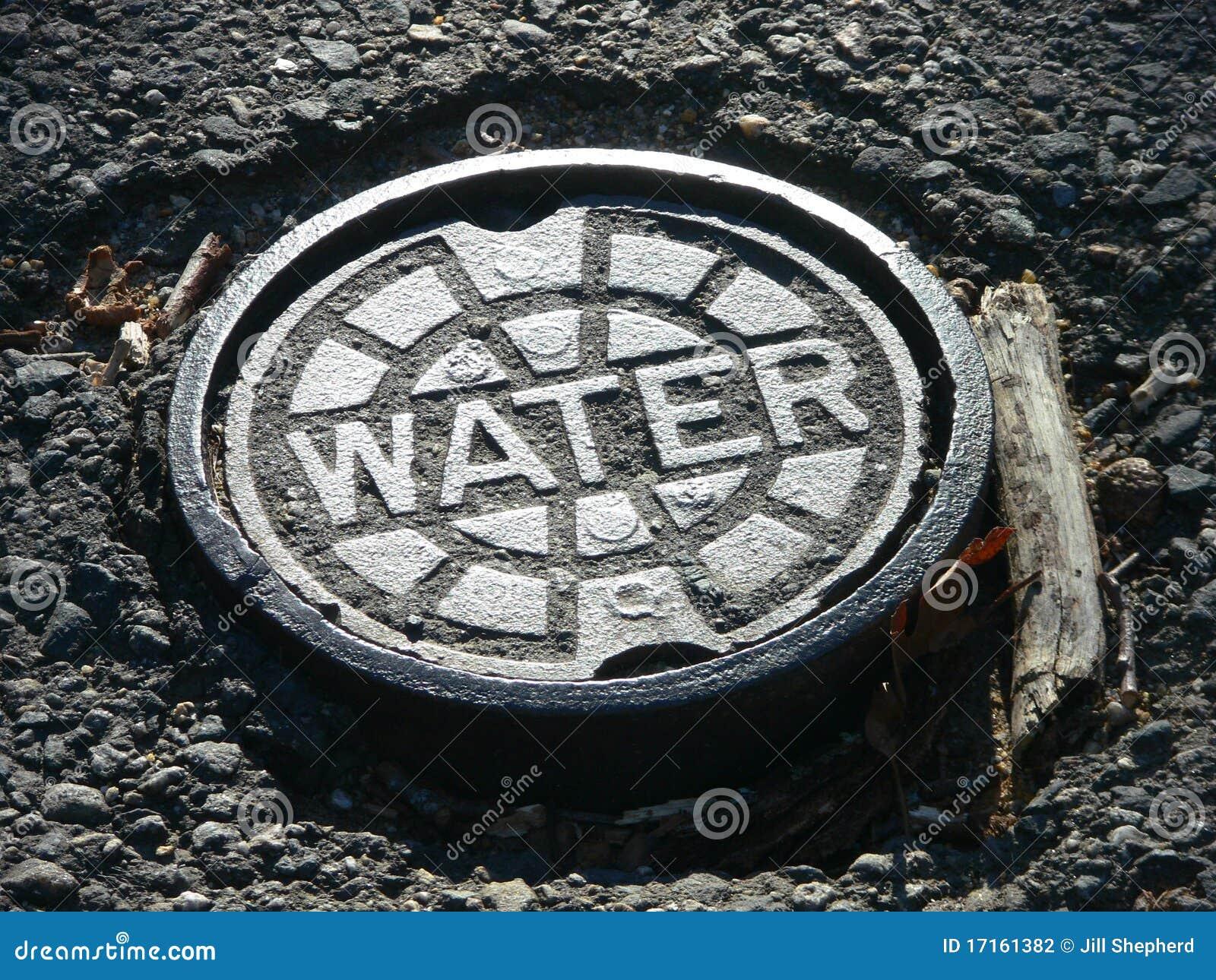 Coperchio di botola del main di acqua