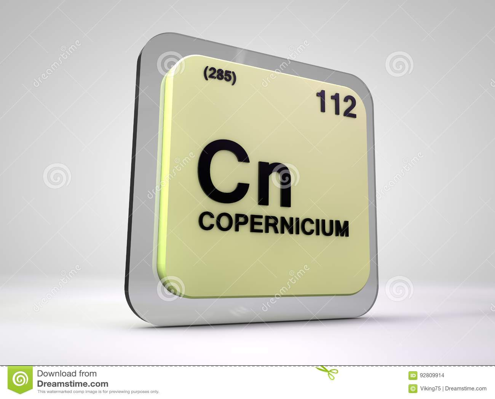 Copernicium cn chemical element periodic table stock copernicium cn chemical element periodic table gamestrikefo Choice Image