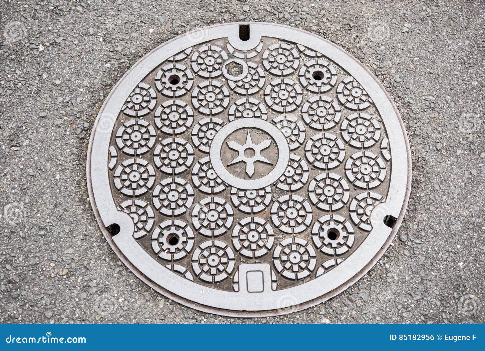 Copertura di botola rotonda di progettazione