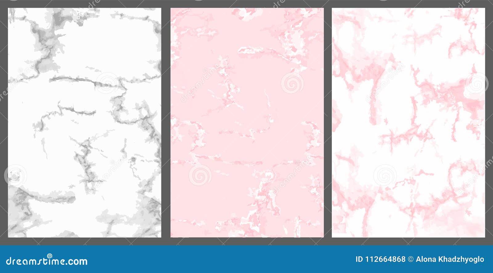 Copertura Di Marmo Rosa Bianco Ed Argento Fondo Di Lusso Sveglio