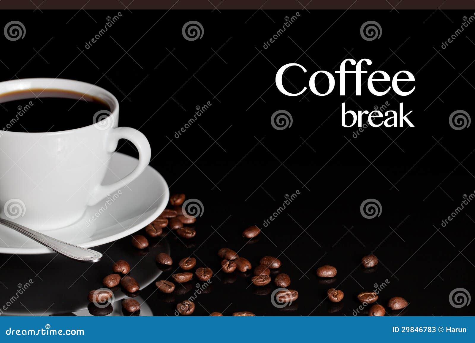 Fundo da ruptura de café