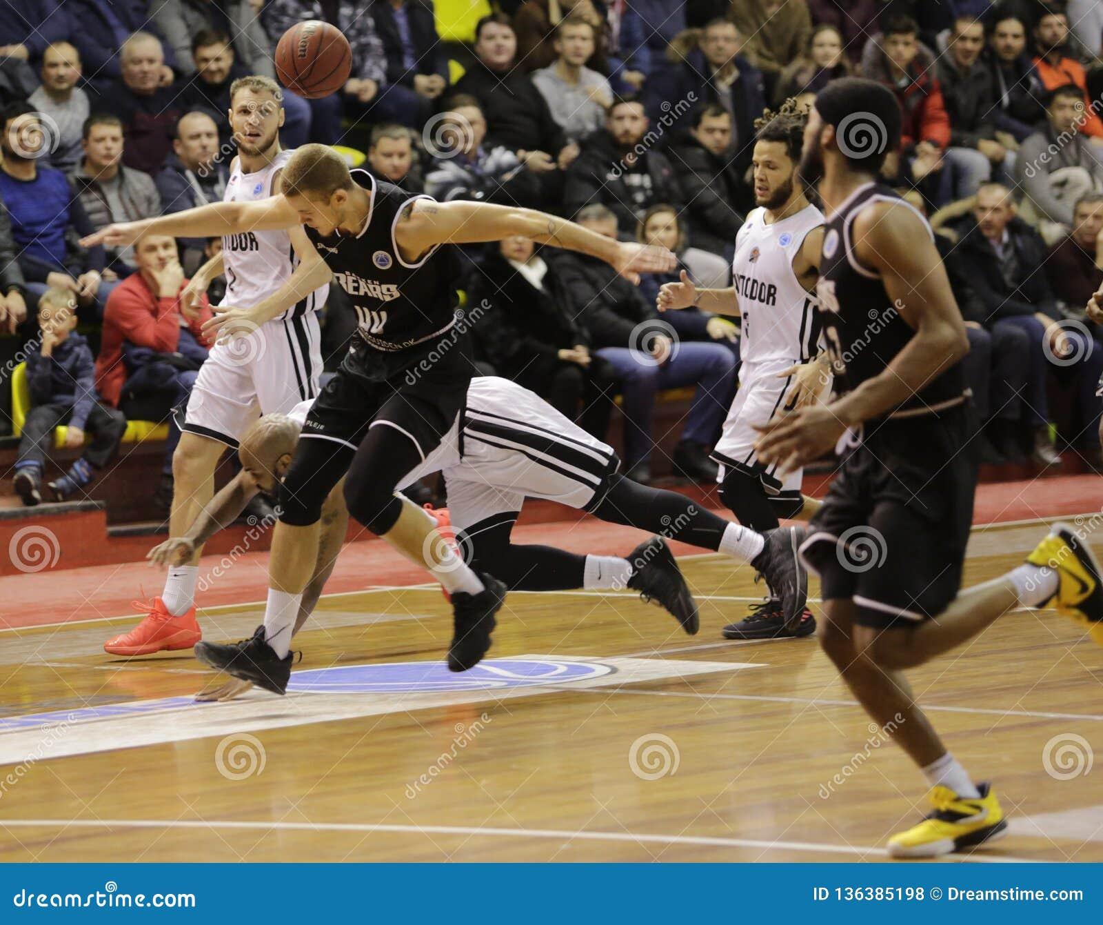 Copo de FIBA-Europa Basquetebol Rússia saratov