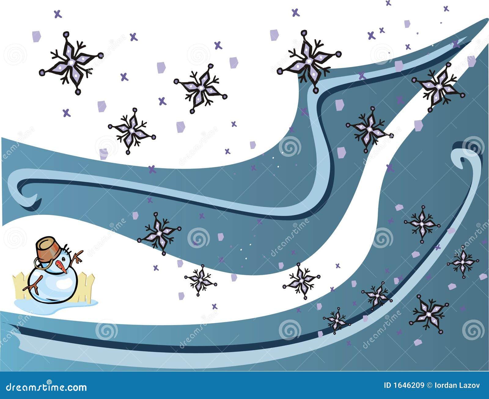 Copo de nieve de la Navidad