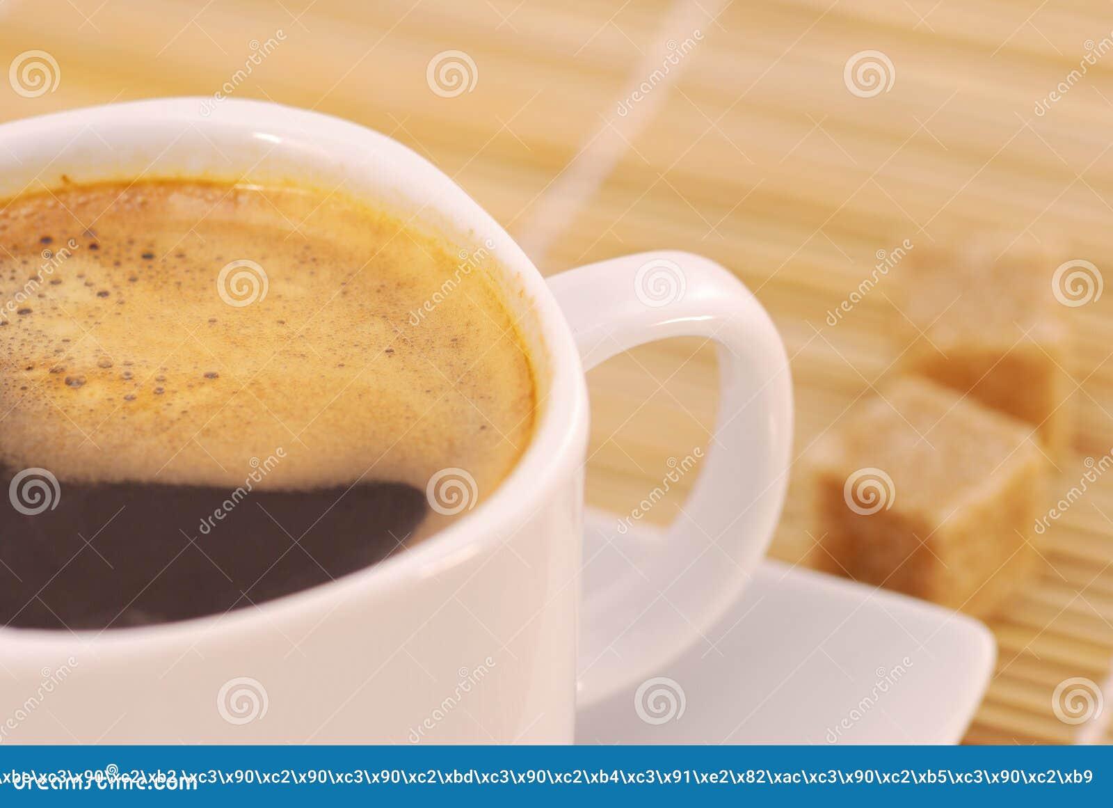 Copo do café fabricado cerveja fresco