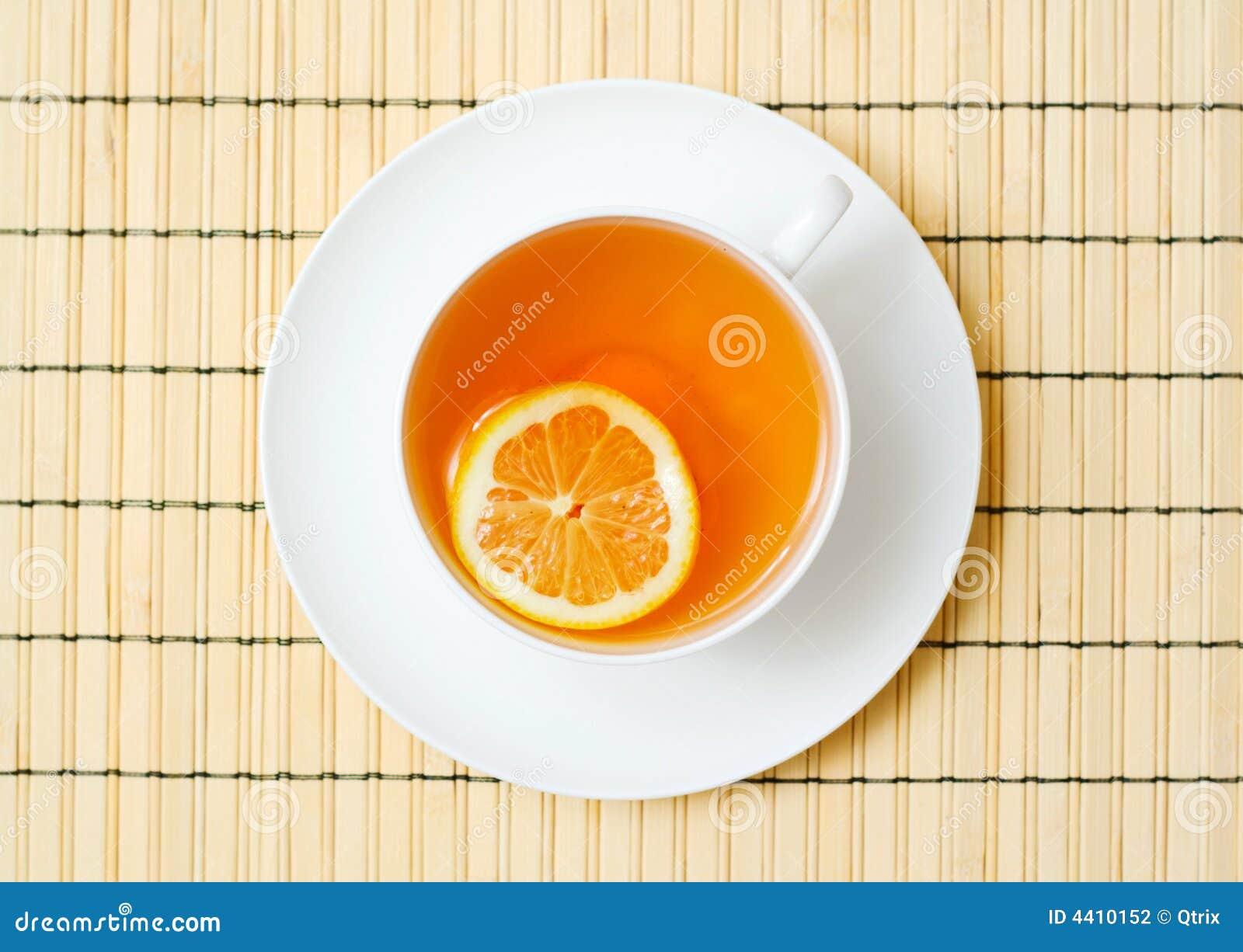 Copo do chá.
