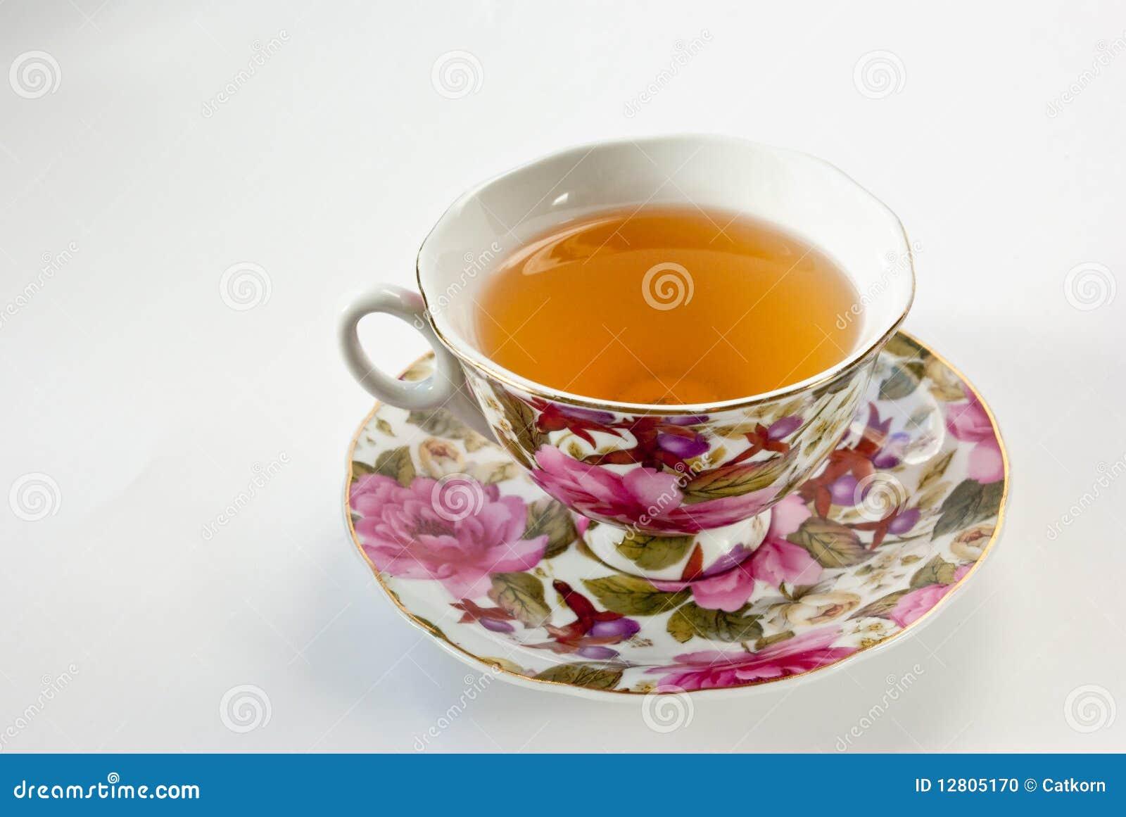 Copo do chá verde