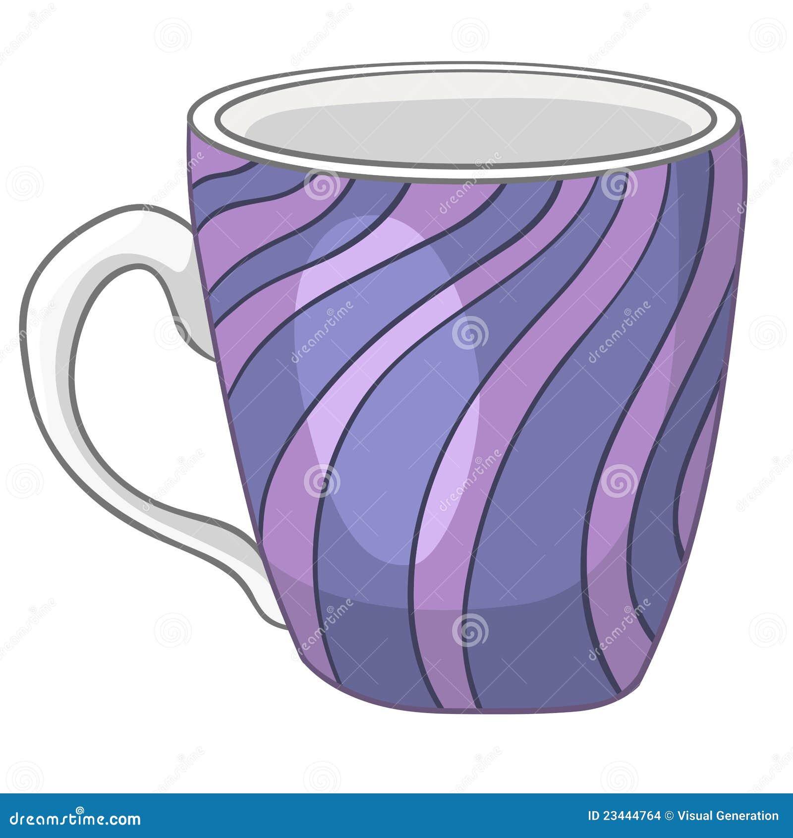 Copo Home Da Cozinha Dos Desenhos Animados Imagens de Stock Imagem  #83A427 1300 1390