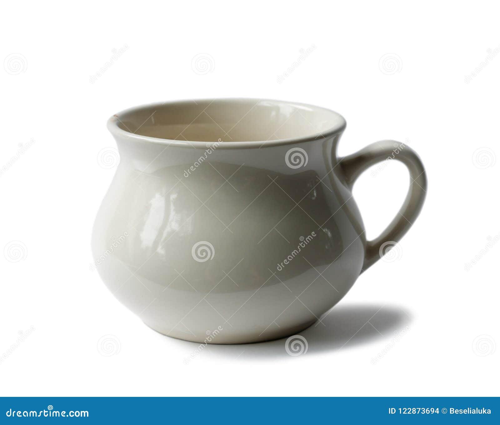 Copo vazio da porcelana velha