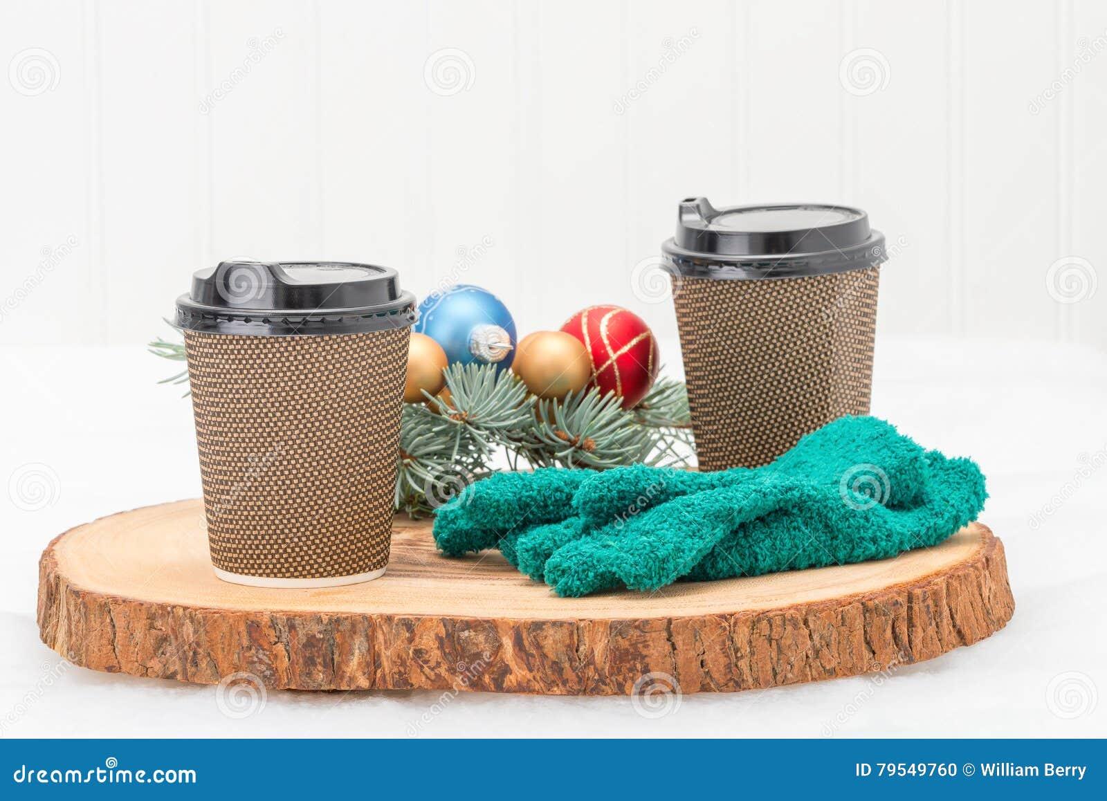 Copos de café quentes