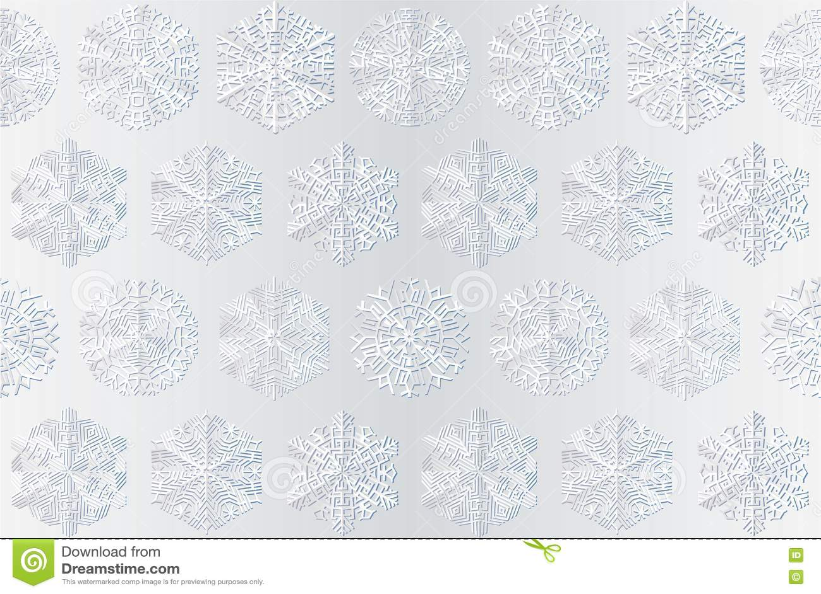 Copos de nieve en el fondo blanco im genes de archivo for Blanco nieve